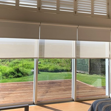 Betta Blinds Day/night system. Adjust to suit you!