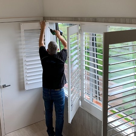 Betta Blinds Riviera Shutters Esuite - Quality installation and finish guaranteed