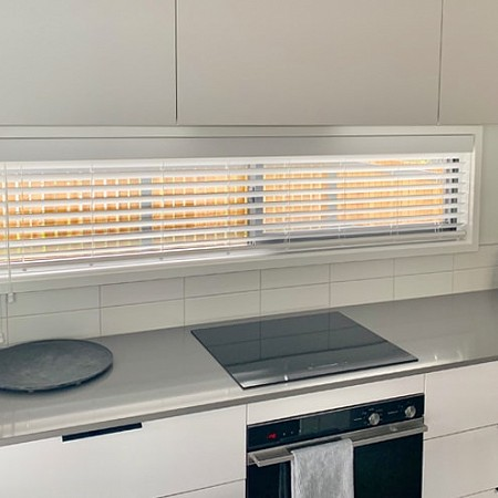 Betta Blinds Venetian Blind kitchen in Papamoa